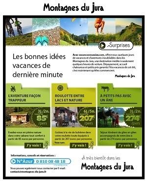 Montagnes du Jura lance sa campagne de communication lundi 9 juillet 2012 - DR