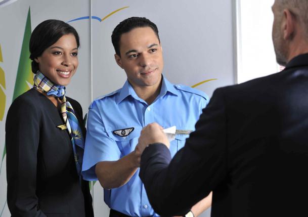 Les PNC qui prouvent leur valeur peuvent devenir chef de cabine, puis chef de cabine principal, et enfin instructeurs et formateurs.  - Photo Air Caraïbes