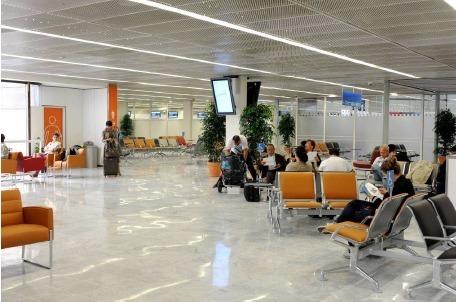 La salle 40 s'étend sur 1 800 m² et peut accueillir 1,5 million de passagers par an - Photo DR