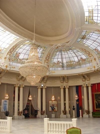 Jusqu'au 5 janvier 2013, le grand public pourra entrer dans le vénérable palace et découvrir dans la magnifique Rotonde - DR