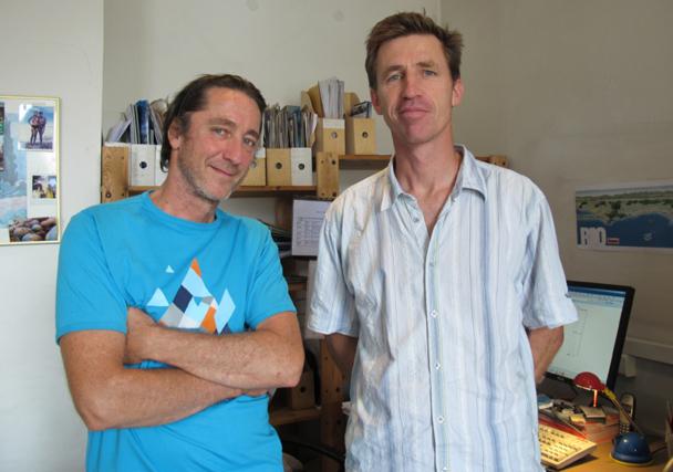 Michel Datchary et Stan Brun ont fondé Autremer Voyages en 1997 - DR : A.BORIOS