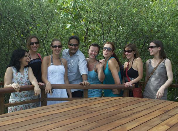 Plusieurs TO français ont été invités à découvrir le TAJ Exotica Resort & Spa - Photo DR BF