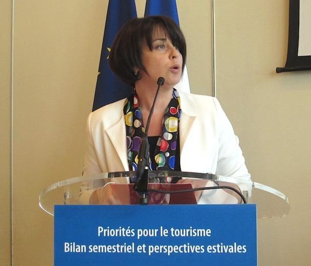 Sylvia Pinel, ministre du tourisme a confié mercredi les grandes lignes de sa stratégie pour dynamiser la profession. DR-LAC