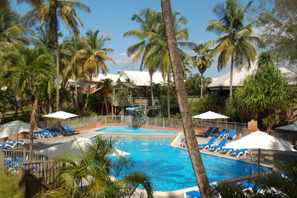 Le Club Lookéa Carayou 3* est situé au sud-ouest de l'île, aux Trois-Ilets - DR