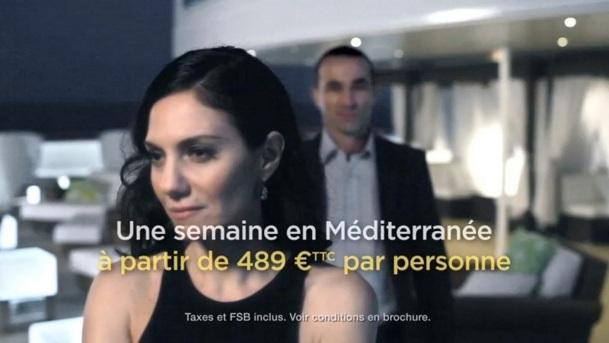 Les spots TV de Costa Croisières seront diffusés pendant 4 semaines sur TF1, Canal Plus et France TV - DR