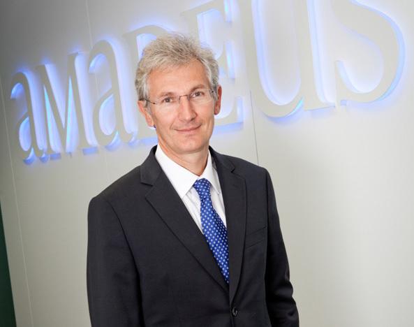 Hervé Couturier nommé Vice-président exécutif du Développement chez Amadeus - Photo DR