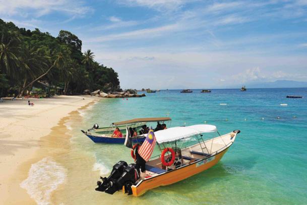 Plage Perhentian Besar Island- Photo DR