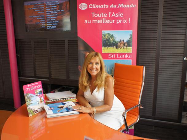 Christine Crispin, directrice générale de Climats du Monde, est une chef d'entreprise qui a su prendre les vents favorables pour développer son activité. Photo CE