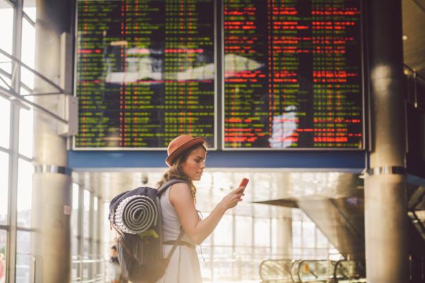 """""""Certaines compagnies ont fait exploser le prix des billets des Français bloqués à l'étranger au début de la crise, nombre d'entre elles entendent aujourd'hui renier le droit à remboursement"""" - DR : DepositPhotos"""