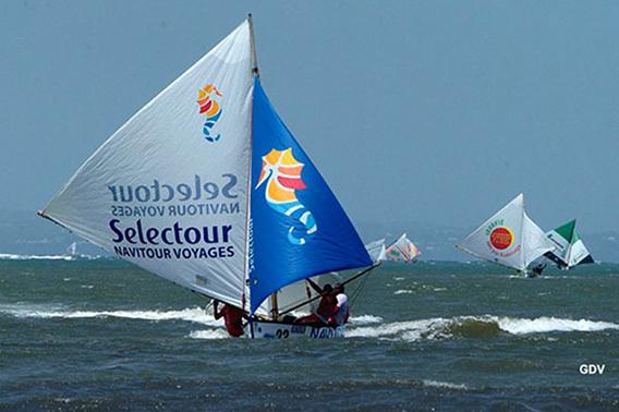 Le canot sponsorisé par le mini réseau Selectour Navitour implanté en Guadeloupe - Photo DR