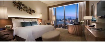 Les chambres de l'hôtel offre une vue imprenable sur la mer Caspienne - Photo DR