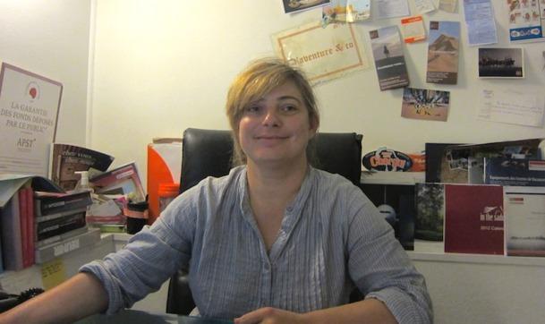 Corinne Martin, fondatrice d'Aventure & Co. DR-LAC