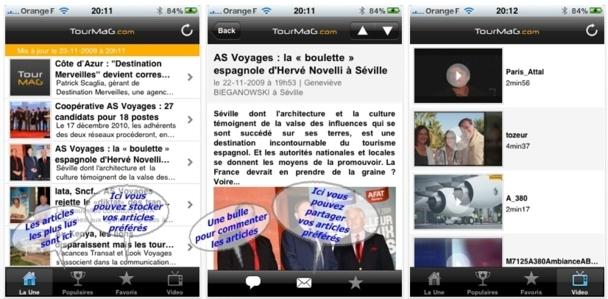 Désormais, il y a une appli mobile TourMaG.com pour chaque smartphone /photo dr