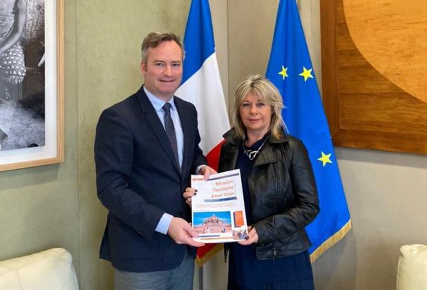 Pascale Fontenel-Personne et Jean-Baptiste Lemoyne  - DR