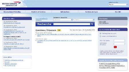 British Airways : le site BtoB fait peau neuve