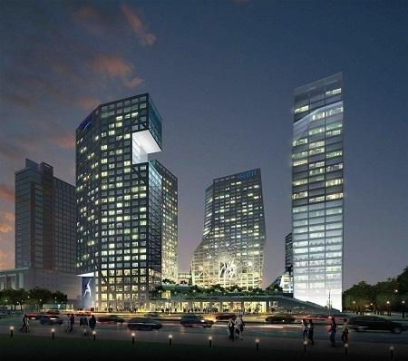 La résidence ouvrira ses portes à Chengdu en 2013 - Photo DR