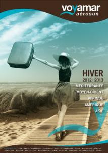Voici la couverture de la première brochure du TO Voyamar Aérosun - DR
