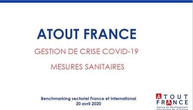 Le benchmark mis à disposition par Atout France recense (à date) les pratiques de prévention et de protection sanitaire engagées en sortie de crise par les acteurs de la chaîne touristique - DR