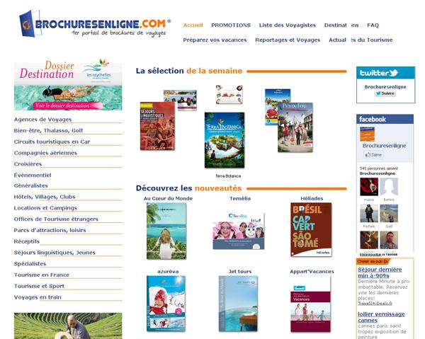 Les catalogues paraîssent en ligne parfois jusqu'à un mois d'avance sur la version papier !