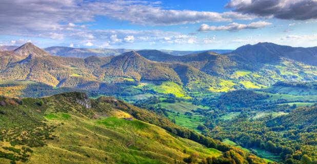 Massif du Cantalian (Auvergne) Crédit DepositPhoto