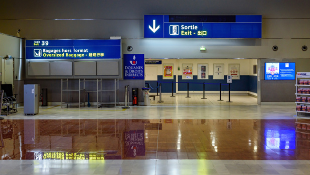 ADP se prépare à effectuer des contrôles de température sans contact auprès d'un maximum de passagers /crédit DepositPhoto