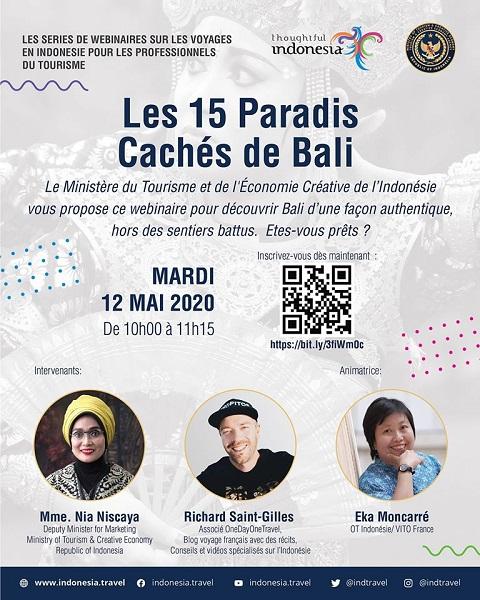 Indonésie : webinaire le 12 mai prochain pour les pros du tourisme