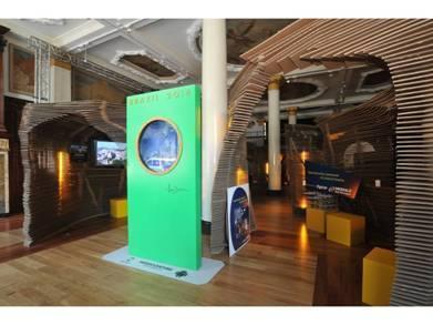 L'exposition Brazil at Heart est visible jusqu'au 2 septembre 2012 à Londres - Photo Embratur