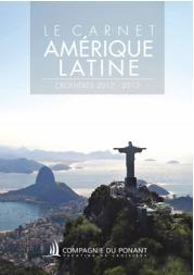 Le catalogue présente 8 itinéraires dans plus de 10 pays d'Amérique Latine - DR