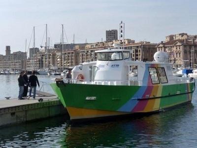 Le Batobus reprend du service à Marseille au printemps 2013 - Photo Jean-Marie Leforestier