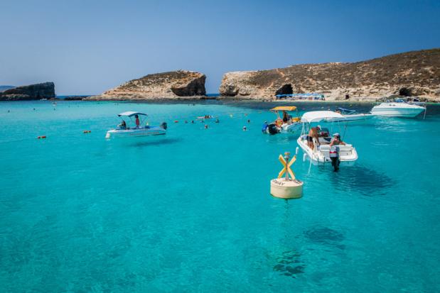 lagon bleu de Comino-DR Office de Tourisme de Malte