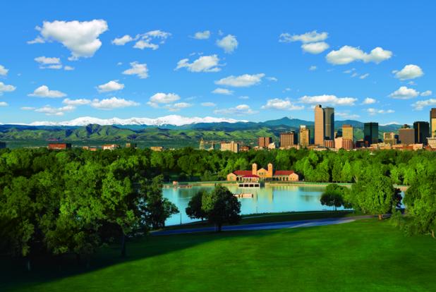 Skyline de Denver-DR Visit Denver