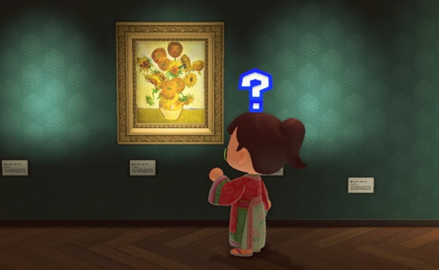 Un musée virtuel dans le jeu vidéo « Animal Crossing » Animal crossing / Lou B.