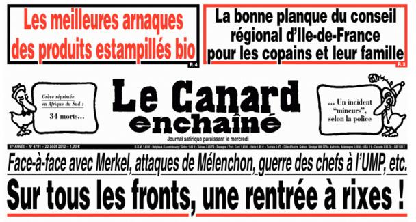 Népotisme : le CRT Ile-de-France dément les accusations du Canard Enchaîné