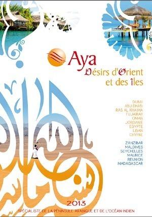 Le catalogue sera disponible en agences vers le 15 septembre 2012 mais est pour le moment consultable en ligne - Page de couverture