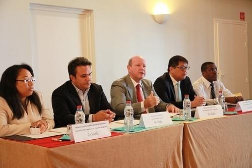 Les représentants des Îles Vanille se sont rassemblés les 22 et 23 août 2012 sur l'île de la Réunion - Photo DR