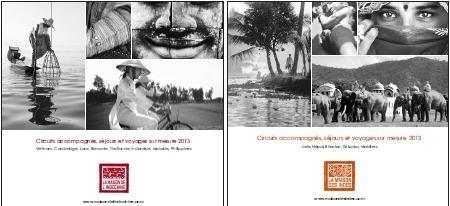 La Maison des Indes et la Maison de l'Indochine annoncent la sortie de leurs brochures 2013, vendredi 24 août 2012 - DR