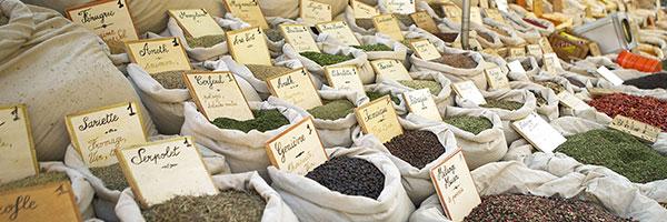 SEMA /Le marché à Sainte-Maxime