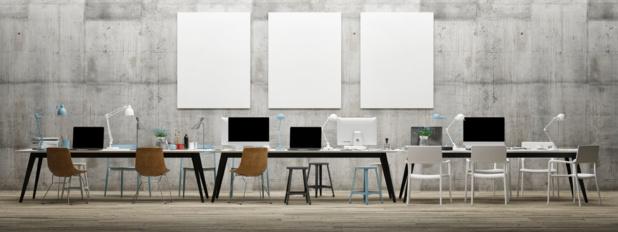Pour assurer la propreté des locaux et la rotation des équipes, le recours aux « bureaux propres » apparaît comme la solution idéale./crédit DepositPhoto
