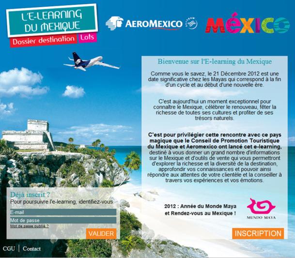 E-learning Mexique : 4 places en éductour à gagner pour les AGV