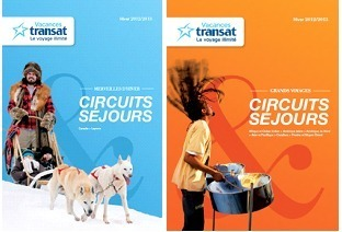 Vacances Transat : nouvelles brochures, nouveau contenu