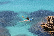 Balade en Kayak vers Ramatuelle / DR Pep's Spirit