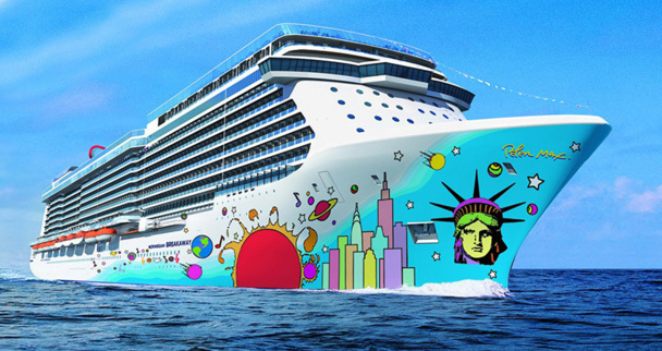 Le Norwegian Breakaway démarrera sa 1ère croisière en mai 2013 - DR : Echos du Large / Norwegian Cruise Line