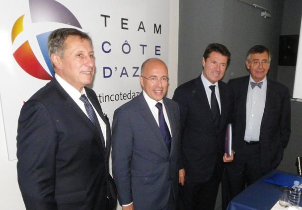 Team Côte d'Azur, le bureau de promotion économique des Alpes Maritimes, va être réorganisé - DR : M.B.