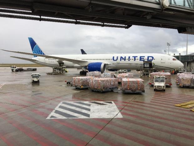 A l'aller, la liaison au départ de Paris-Charles de Gaulle vers New York/Newark est assurée les lundis, jeudis et samedis. - DR