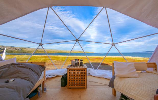 Le camping de papa a cédé la place à des hébergements de plus en plus sophistiqués et courus - DR : DepositPhotos