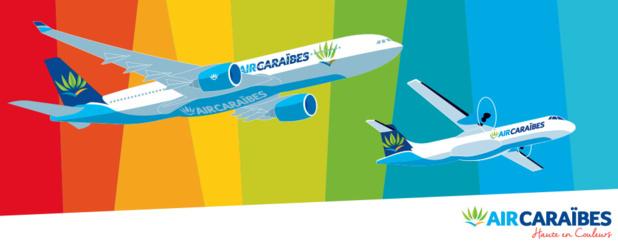 Air Caraïbes, annonce la reprise de ses vols commerciaux long-courriers sur son « cœur de réseau » entre la Métropole et les Antilles. / crédit image Air Antilles