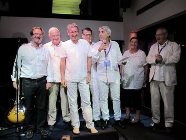 """La """"Dream Team'' de Lucien Salemi, avec des administrateurs qui ''mouillent la chemise'' et pratiquent la décentralisation /photo JDL"""