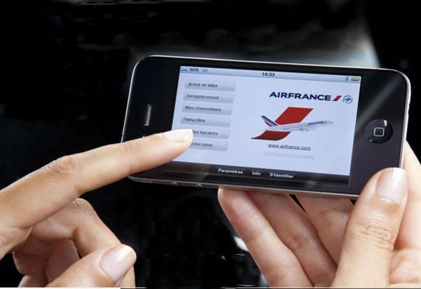 Les compagnies aériennes américaines qui ont mis en place un programme d'accès à Internet s'attendent à en retirer un chiffre d'affaires de 225 millions cette année, contre 155 millions en 2011. - Photo Air France dr