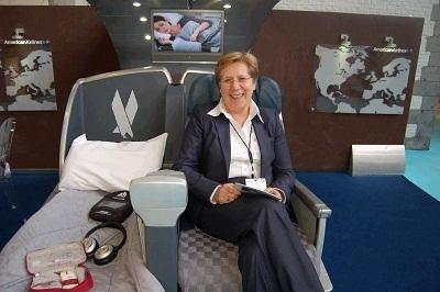 Olga Jacob est la nouvelle Directrice Régionale Franceet BéNéLux pour American Airlines - Photo DR