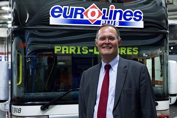Antoine Michon, le directeur général d'Eurolines. DR